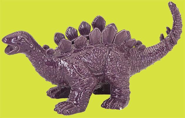 Purple Dinosaur Planter