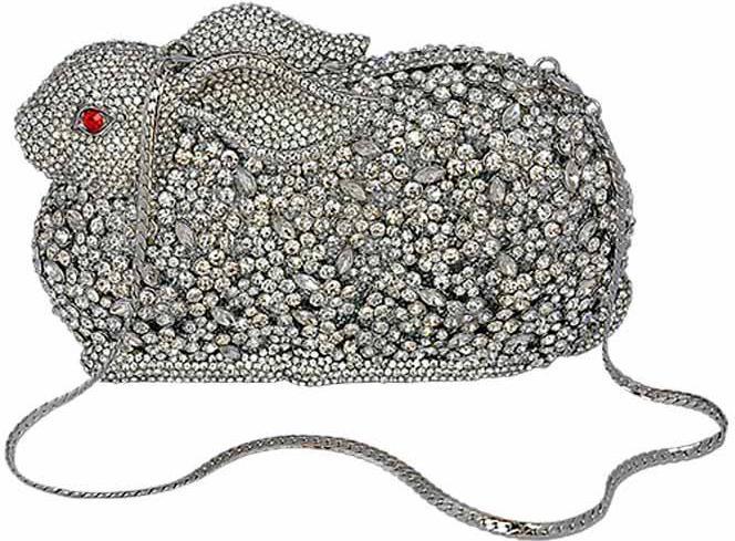 Jeweled Bunny Evening Bag