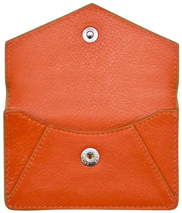 Orange Envelope Card Wallet