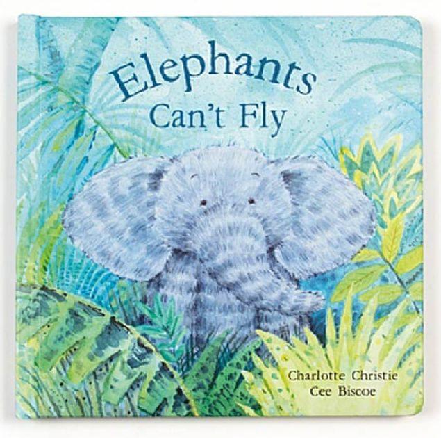 Jellycat Elephants Can't Fly Book