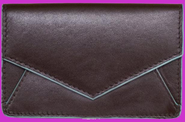 Brown Envelope Card Wallet