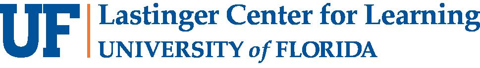 university of florida lastinger center logo