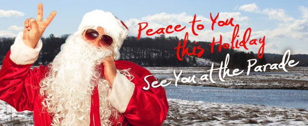 Peace to You this Holiday - See You at the Essex Holiday Parade