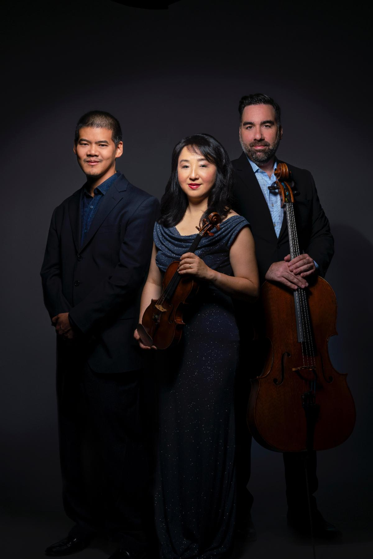 Three of the Civitas Ensemble musicians