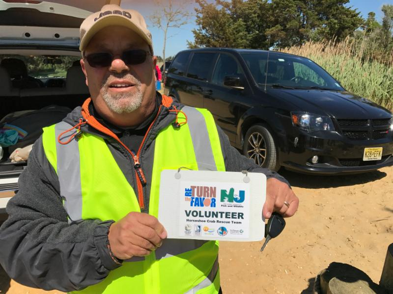 Return the Favor RTF volunteer