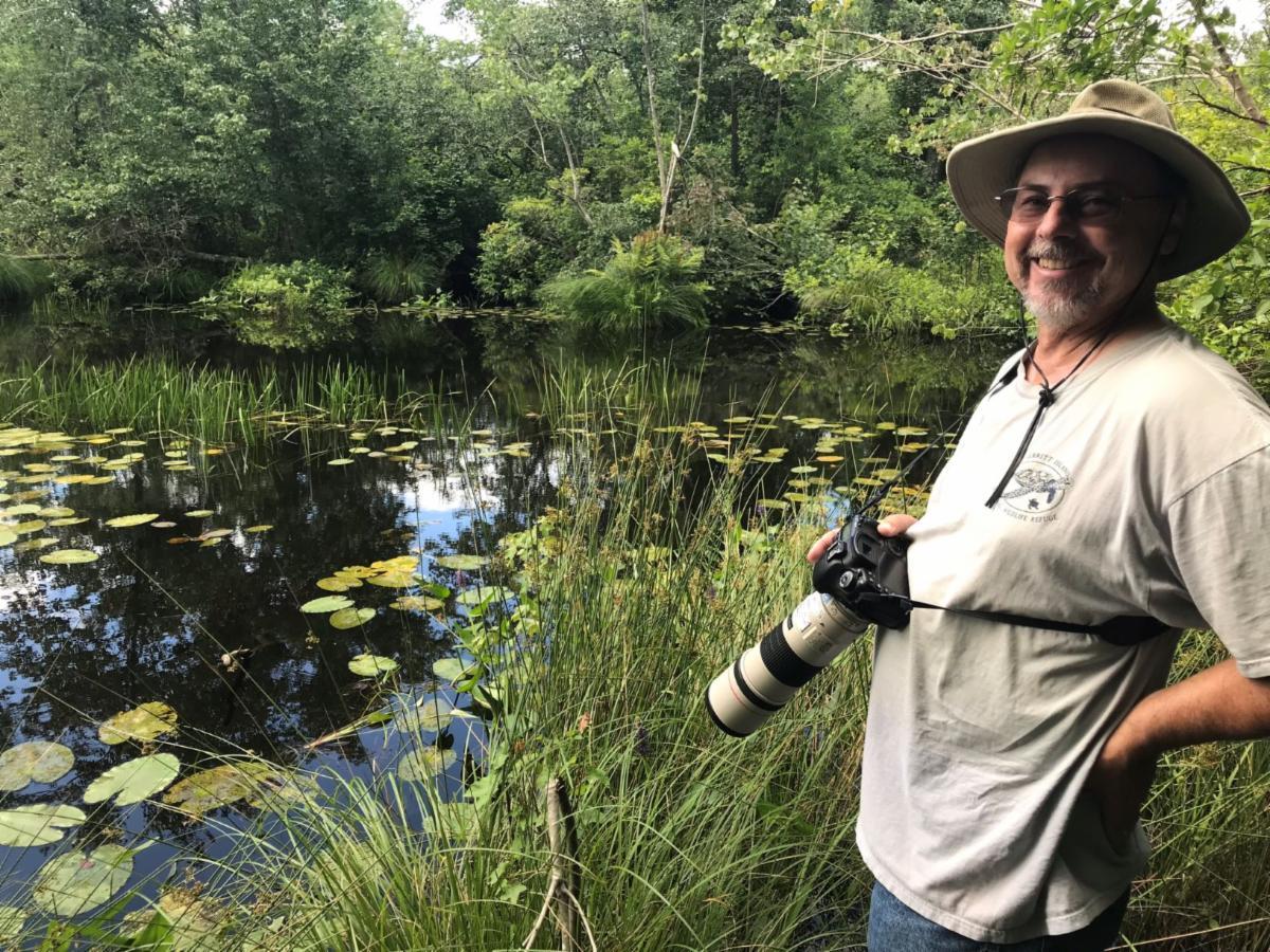 Steve Glynn Naturalist West Side Park Vineland Dragonfly
