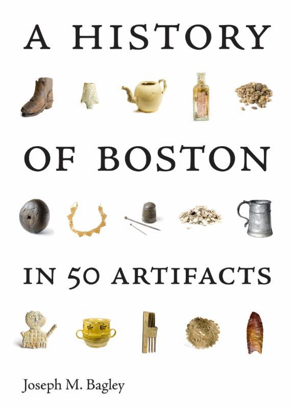 History of Boston 50 artifacts book cover