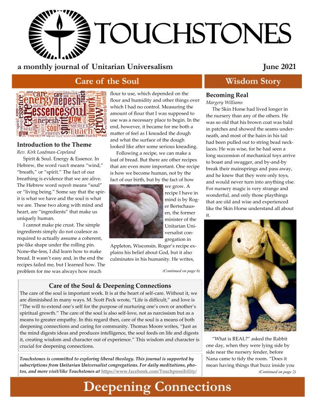Touchstones Journal for June