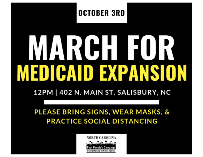 March for Medicaid Expansion