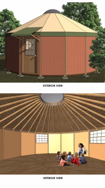 Illustration of a Yurt
