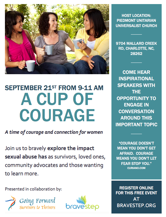 A Cup of Courage workshop flyer