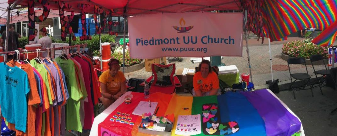 Pride booth
