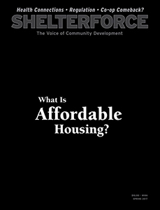 Shelterforce Issue 186 -- What Is Affordable Housing
