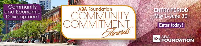 ABA Foundation Community Commitment Awards Entry Info