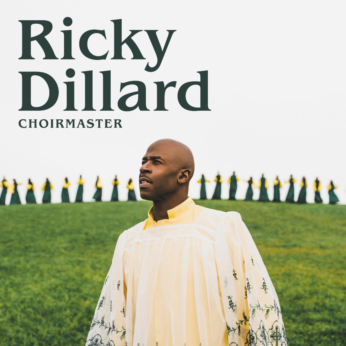 "Iconic Choir Director Ricky Dillard's Highly Anticipated New Album ""Choirmaster"" Available for Pre-Order Today"