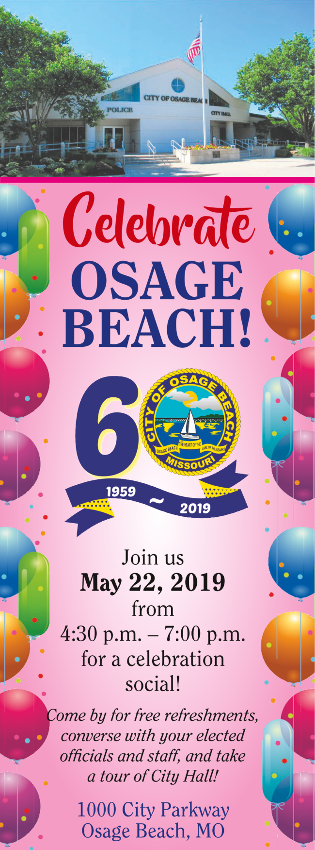 Osage Beach 60th Anniversary