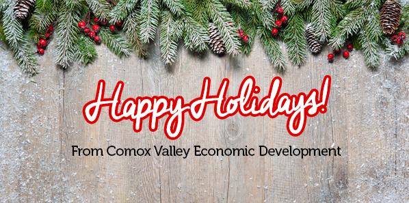 Happy Holidays from Comox Valley Economic Development