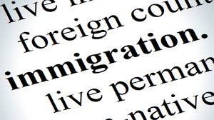 Image of the bolded work %22immigration%22.
