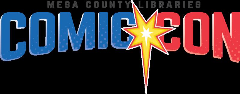 Mesa County Libraries Comic Con logo