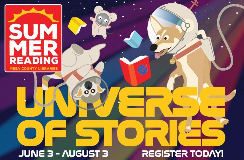 Summer Reading promo graphic