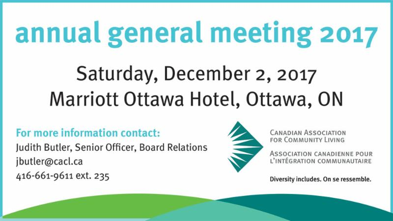 CACL Annual general meeting 2017_ Saturday_ December 2 at the Marriott Ottawa Hotel_ Ottawa. To RSVP email jbutler_cacl.ca.