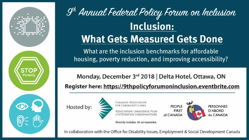 9th Annual Federal Policy Forum on Inclusion_ Inclusion - What Gets Measured Gets Done
