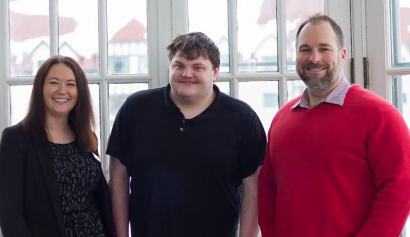 RWA hire John_ and his supervisors Erin and Matthew.