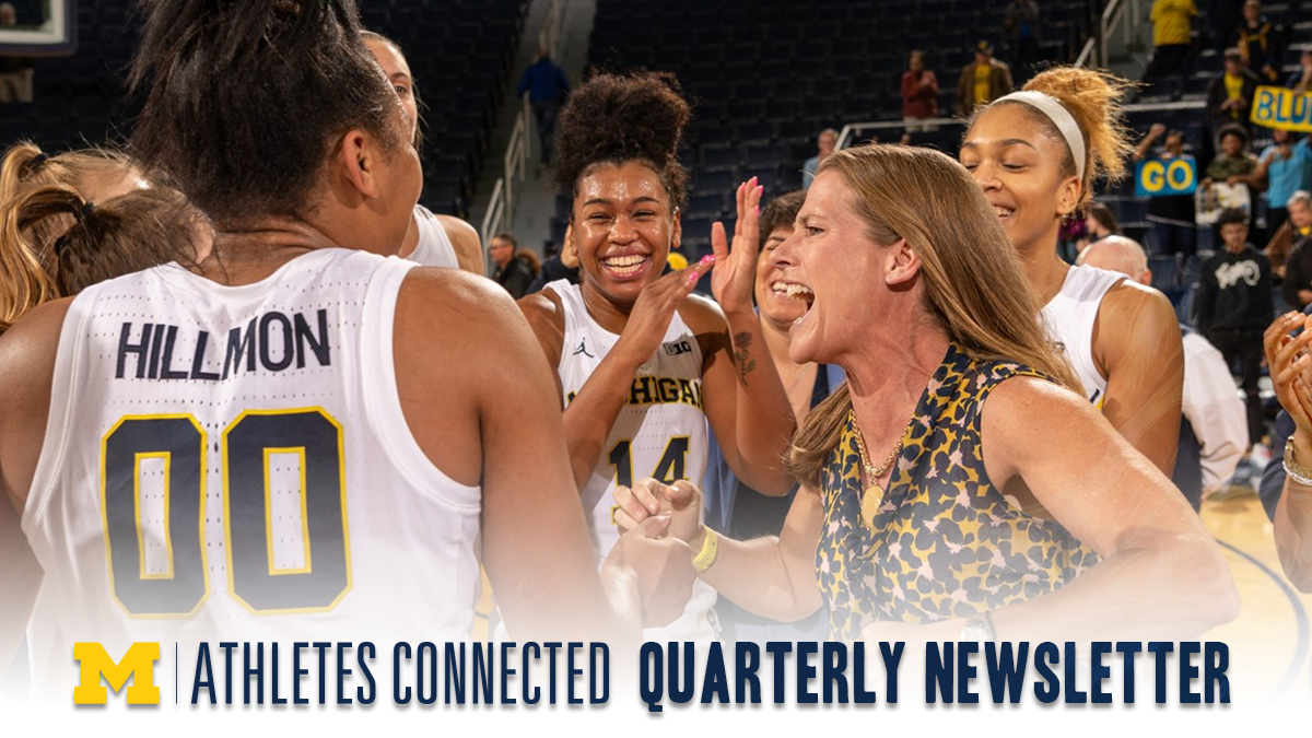 Athletes Connected newsletter banner 2020