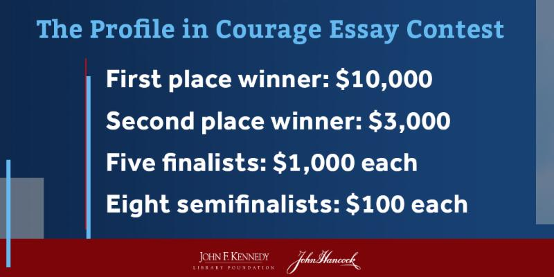 profile in courage essay contest