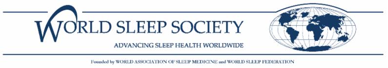 World Sleep Society Logo