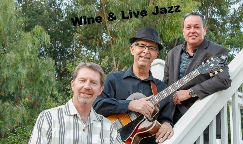 Wine & Jazz – Live Music Friday Night Featuring Leslie Trio