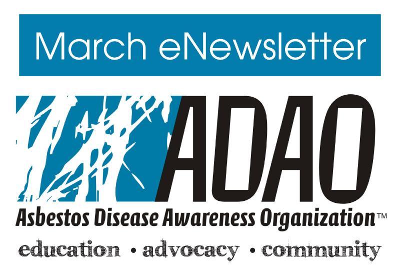 March eNewsletter