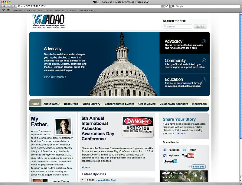 ADAO Website Image