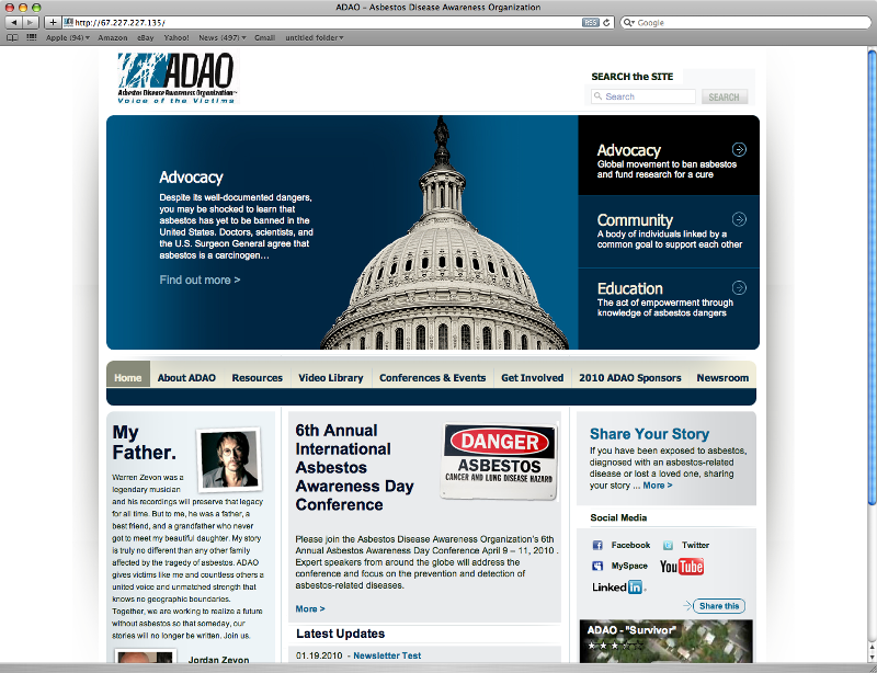 ADAO New Website