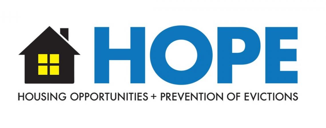 Housing Opportunities and Prevention of Evictions logo