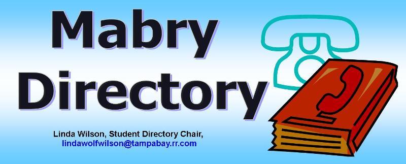mABRY dIRECTORY HEADER
