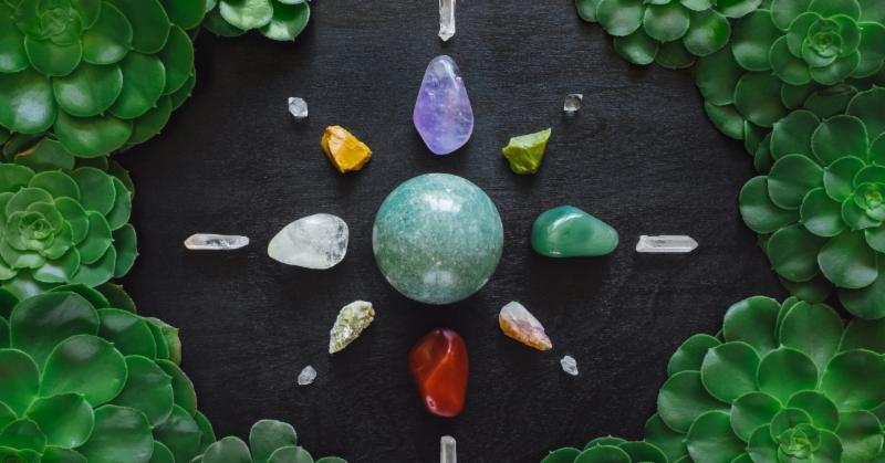 Crystal Grids help focus energy on specific goals.