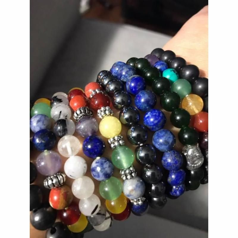 Nature_s Treasures has a large selection of trendy Gemstone Power Bracelets at a great price_ Shop online or in the Retail Store.