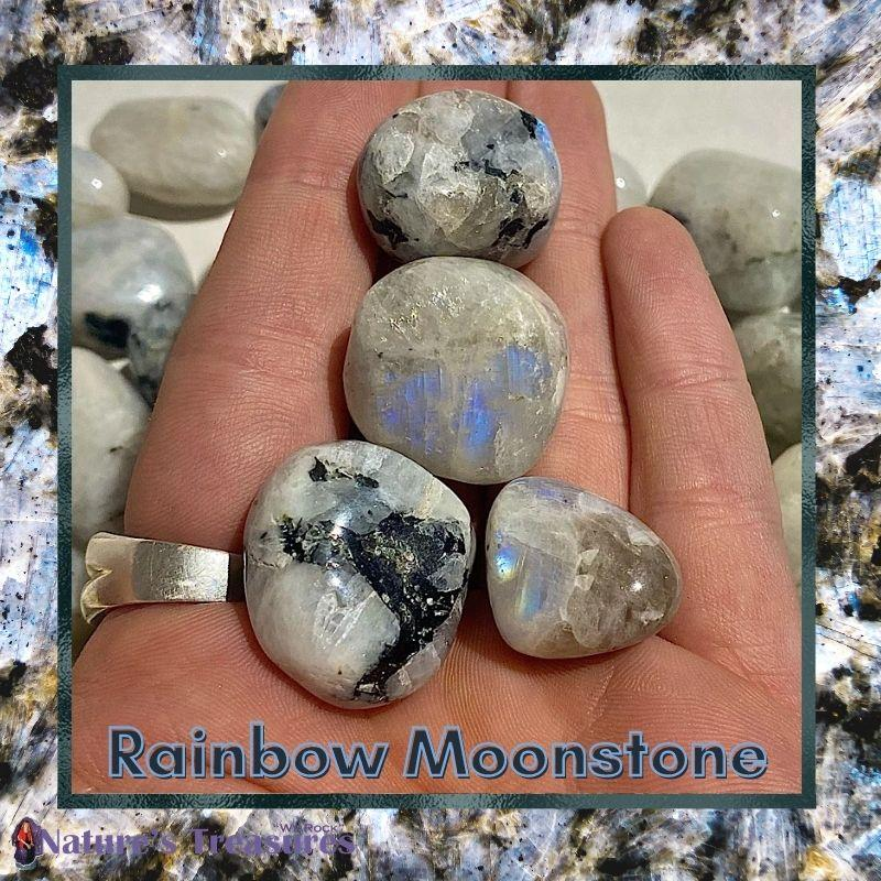 Rainbow Moonstone: Stone of New Beginnings Blog Article