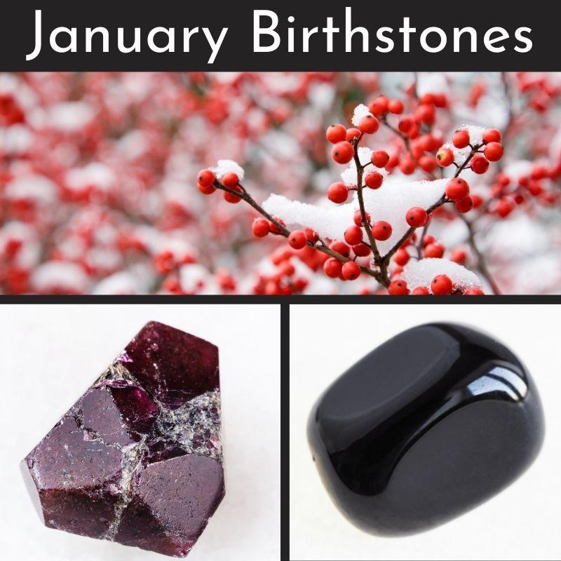 January Birthstones Collection