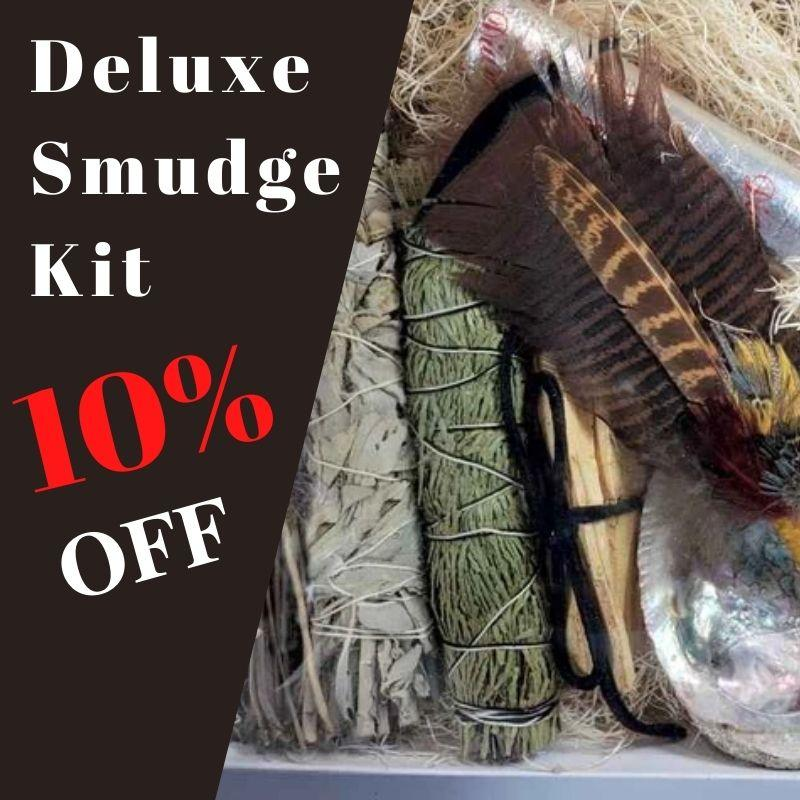 10% OFF Deluxe Smudge Kit