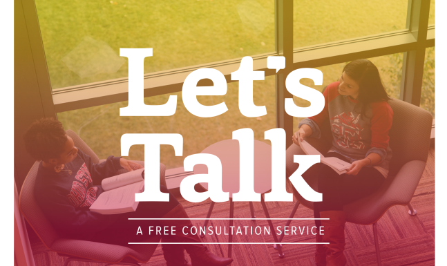 Let's Talk | A Free Consultation Service