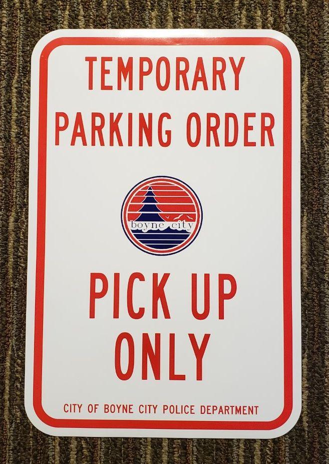 pickup parking