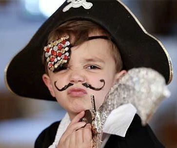 Young pirate