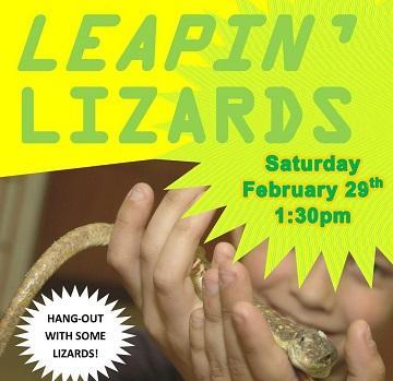 Leapin_ lizards