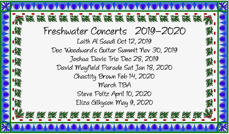 Freshwater concerts