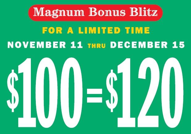Magnum bonus