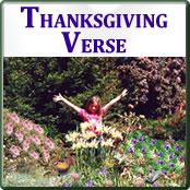 Thanksgiving Verse