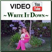 Video-Write it Down!