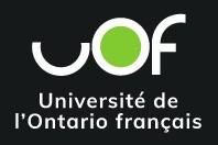 Logo of the Universit_ de l_Ontario Fran_ais